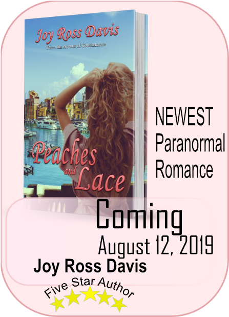 Peaches and Lace cover - paranormal romance novel, Joy Ross Davis, author