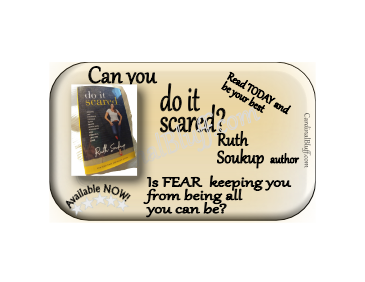 Do-it-Scared, Ruth Soukup Author