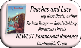 Peaches and Lace, Joy Ross Davis, author