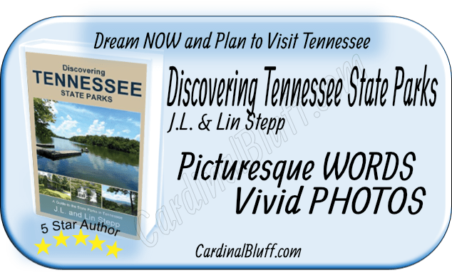 Travel Guide for Tennessee State Parks, J.L. and LIn Stepp, authors.