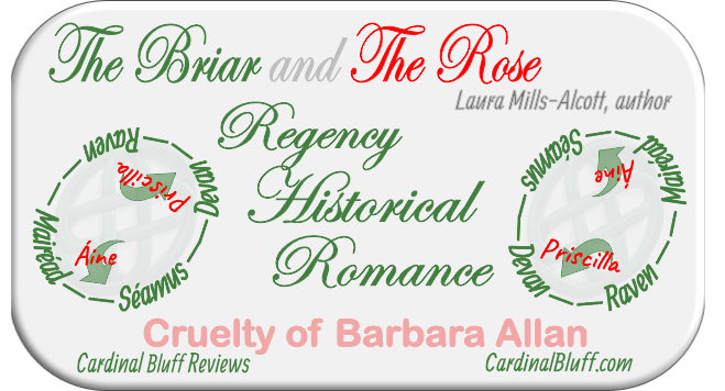 Graphic for Regency historical romance novel The Briar and the Rose.