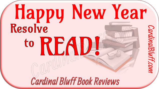 Happy New Year graphic -- Resolve to Read