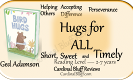 Children's book, Bird Hugs, Ged Adamson author