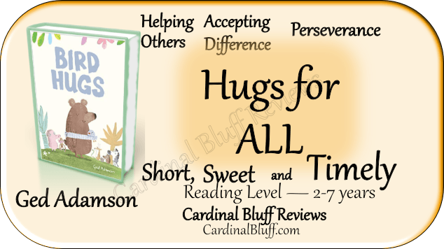 Bird Hugs - children's story about a bird with long wings.