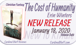 The Cost of Humanity, Author Erin Winters, Christian Fantasy