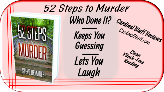52 Steps to Murder. Steve Demaree, author. Mystery story