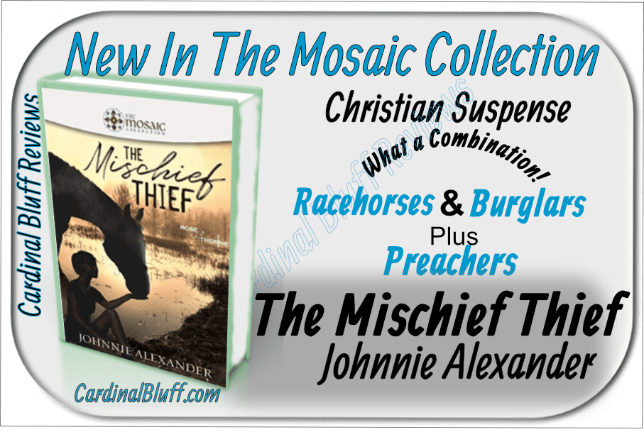 The Mischief Thief, Johnnie Alexander author. Christian Suspense
