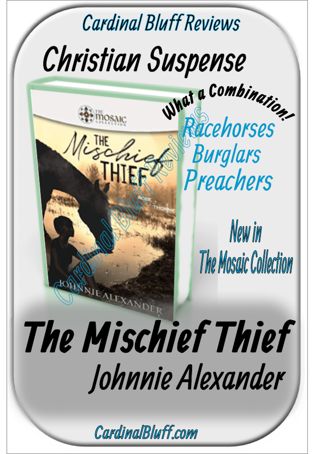 The Mischief Thief - Christian Suspense novel.  Johnnie Alexander, author