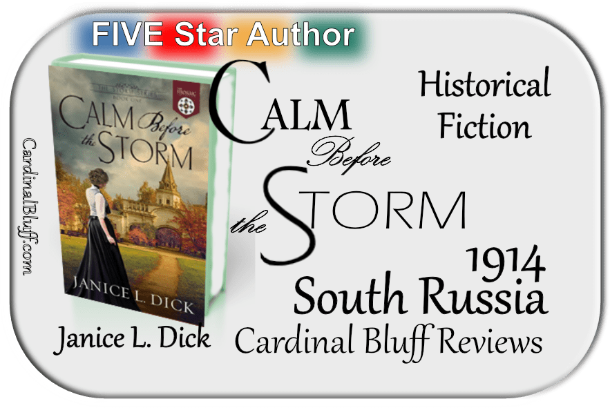 Calm Before the Storm, political, historical fiction. Janice L. Dick author