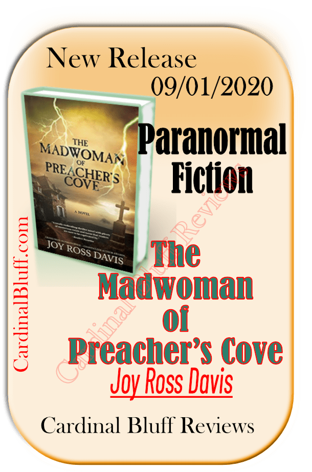 New paranormal fiction from author Joy Ross Davis. Madwoman of Preachers Cove