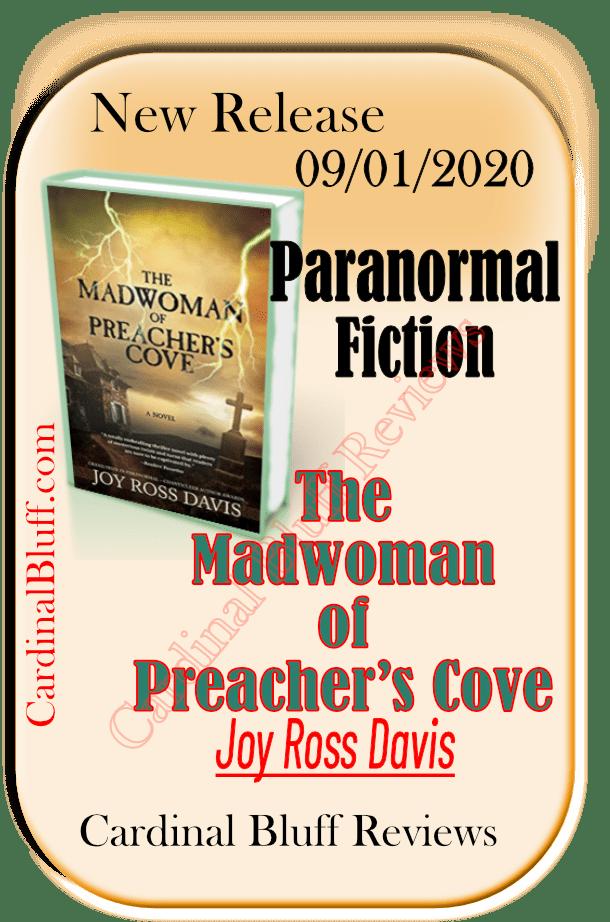 Paranormal novel. Madwoman of Preacher's Cove. Joy Ross Davis author