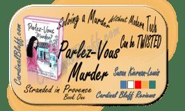 Parlez Vous Murder, cozy mystery, author, Susan Kiernan-Lewis
