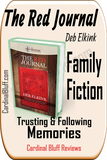 Review The Red Journal, Deb Elkink, author. Gentle, family fiction