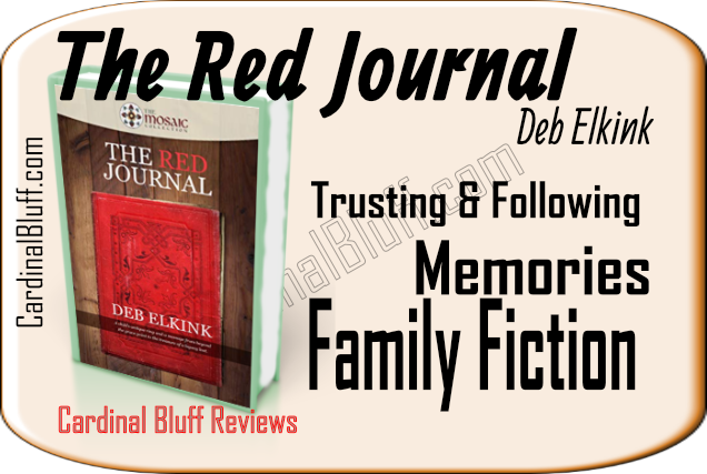 Deb Elkink, author of The Red Journal. Mosaic Collection Books. Enjoy family fiction